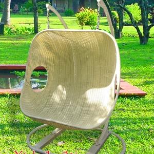 Ghế xích đu đôi đan kín KH27