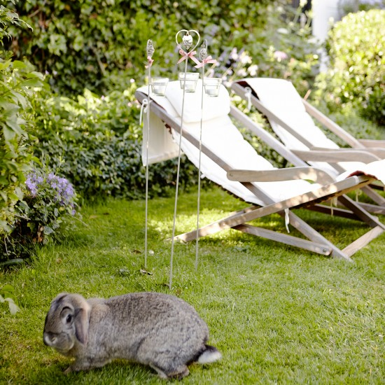 Trang trí vườn xinh cho hè bớt nóng