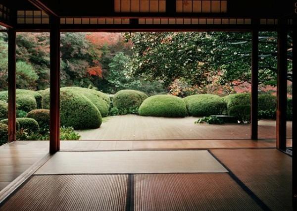 Nhà uống trà là một trong những không gian không thể thiếu được trong các khu vườn Nhật.